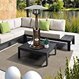 BALI OUTDOORS Portable Patio Heater, Outdoor Propane Table Top Heater, Bronze