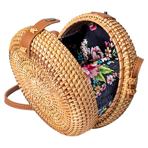 ✔️ TOP BEAUTY BLOGGER'S CHOICE: This bag is natural, unique, chic and trendy for many occasions such as summer beach, shopping, dating, or just as your daily necessity. ✔️ SPECIAL GIFT FOR YOUR WOMEN: The bag is carefully hand-knitted with no-snag on...