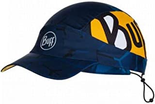 Buff (バフ) スペイン製 PACK RUN CAP 軽量 パッカブルキャップ 薄手 ランニング 折り畳める キャップ UVカット 速乾 サイズ調整可能 フリーサイズ [並行輸入品]