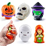 Prextex Halloween Squishies Soft Jumbo Squishies for Best and Stress Relief Squishy Toy