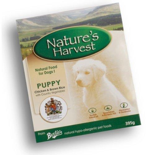 Natures Harvest hondenvoer, kip en tripe, 395 g, 10 stuks