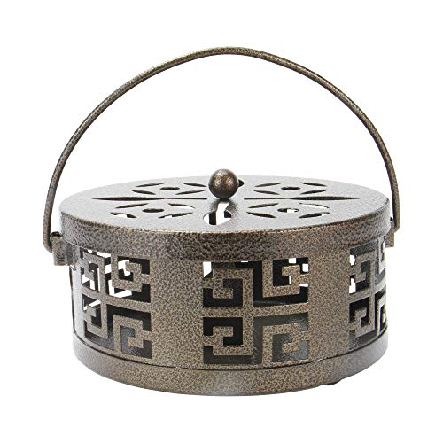 Portaincienso oriental Metal | Repelente Mosquitos