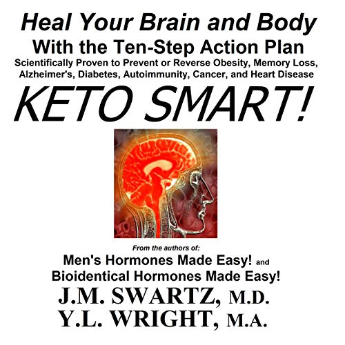 Keto Smart! audiobook cover art