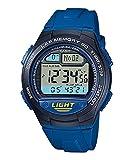 カシオ 腕時計 スポーツギア LAP MEMORY 60 W-734J-2AJF ブルー