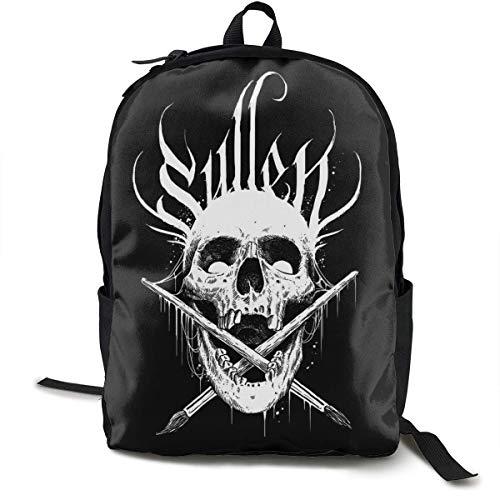 Yaxinduobao Fashion Classic Backpack Sullen Men's and Women's Classic Shoulder Backpack