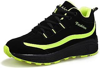 Zapatos Corrientes de Las Mujeres Zapatos de Cuero Transpirables de Primavera Zapatillas de Deporte de Las señoras Aumento...