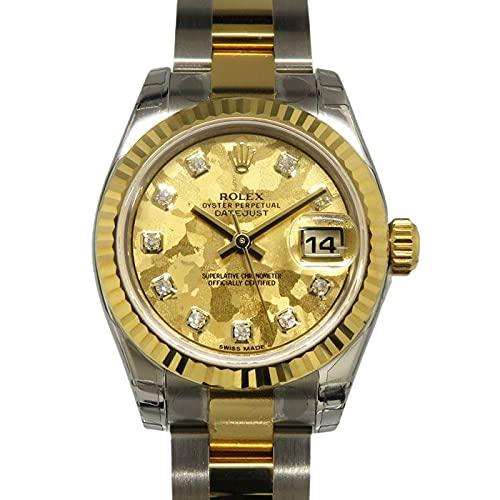 ロレックス ROLEX デイトジャスト 179173G イエローゴールドクリスタル文字盤 腕時計 レディース (W163086) [並行輸入品]