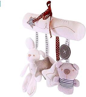 wufeng Bambino Infantile Bambini Activity Spirale Bed Passeggino Giocattoli Hanging Dog Scimmia Cow Giocattoli Colore Casuale Anello a Forma di Stella