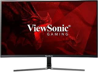 ViewSonic VX2458-C-MHD 24-inch 1080p Full HD Curved Gaming Monitor, Black