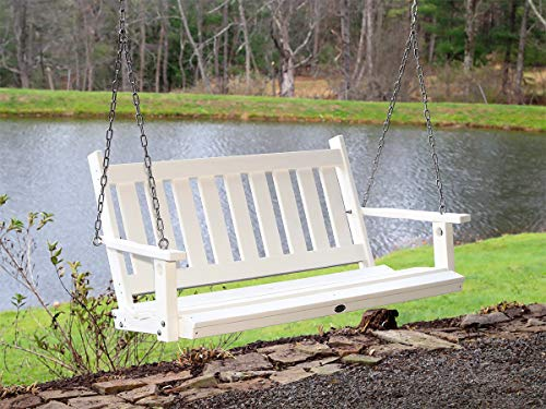Serendipity Farm 4' Recycled Plastic Mission Swing...
