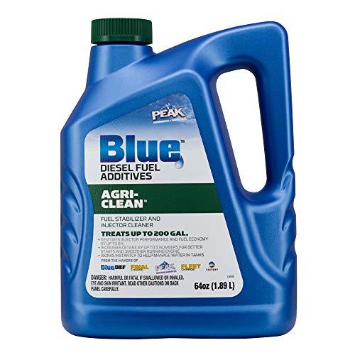 PEAK Blue 64 Ounce Agri-Clean Liquid Fuel Stabilizer Additive for Diesel Engines
