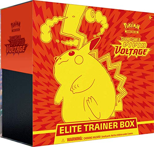 Pokemon Sword & Shield Vivid Voltage Elite Trainer Box