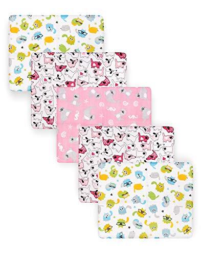 Be Mammy Baby Windelsets Stoffwindeln Mulltücher 60x80 cm 5er Pack BESD002 (Junge2 (5 Pack), 60x80)