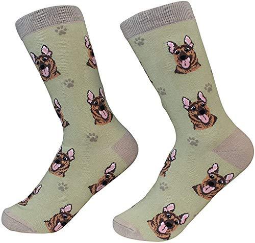 German Shepherd Dog Breed Socks Unisex Sock Daddy by E&S Pets