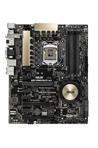 Asus Z97-PRO Mainboard (ATX, Intel Z97, U3, SATA, 4x DDR3)