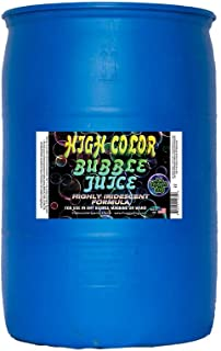 Froggys Fog - High Color Bubble Juice - Strong, Long-Lasting, Iridescent, Brilliant for All Bubble Machines and Bubblers - 55 Gallon Drum