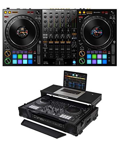 Fantastic Deal! Pioneer DJ DDJ-1000 + Odyssey FZGSDDJ1000W1BL Case Bundle
