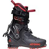 ATOMIC BACKLAND Carbon, Botas de esquí Unisex Adulto, Black/Red, 37.5 EU