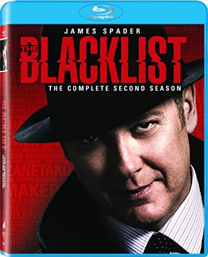 The Blacklist Season 2 Blu ray product image