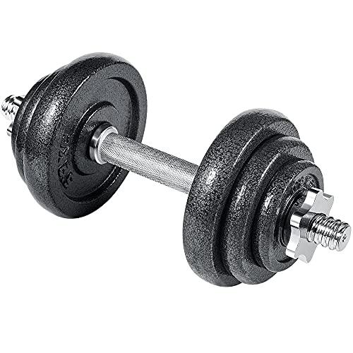 arteesol Kurzhanteln-Verstellbares Gewichte Hantel, Handeln, Hantelset, Kurzhantel 10kg 15kg 20kg 30kg Workout Fitness Training (1x10kg)