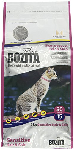 Bozita Feline Hair & Skin-Sensitive 2 kg, 1er Pack (1 x 2 kg)