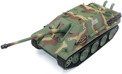 precios mas baratos AXJJ AXJJ AXJJ RC Tanques Tank Toy, 2.4 GHz Control Remoto Metal Tank 1 16 German Jagdpanther Battle Tank Toy Regalo para Niños, simulación de Fumar, Fortaleza giratoria  hermoso