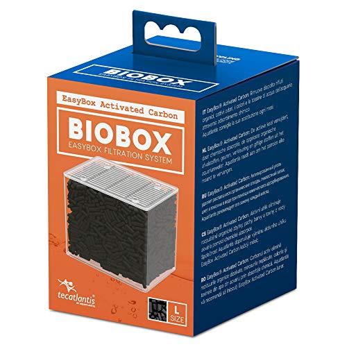 Tecatlantis EasyBox Filter Media Cartridge voor BIOBOX, Actieve kool, Large