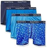 Nautica Men's 4 Pack Micro Boxer Brief,...