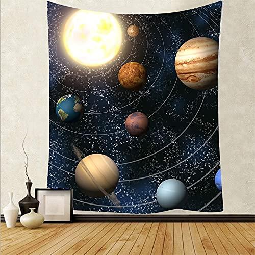 Bella arte cielo stellato sfondo panno foresta animale arazzo decorazione della casa dormitorio sfondo appeso panno A4 73x95 cm