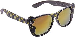 Batman-DC Comics - Gafas de sol para niño, color gris oscuro, talla única (3 a 8 años)