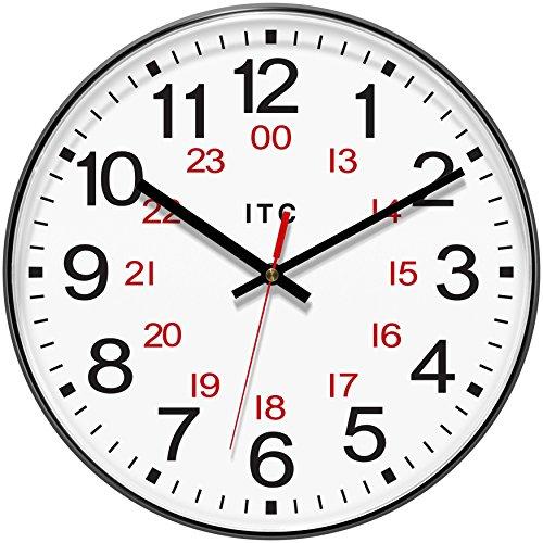 INFINITY/ITC 90/1224-1 Combination 12/24 Hour Clock, 12' Diameter