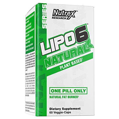 Nutrex Lipo-6 Natural - 60 vcaps
