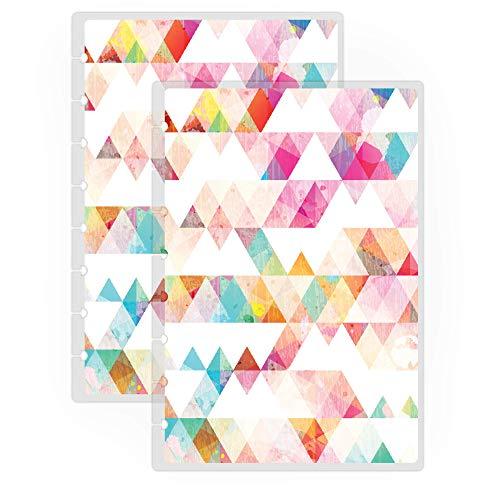 Jane's Agenda Discbound Replacement Planner Cover Discbound, Triangles