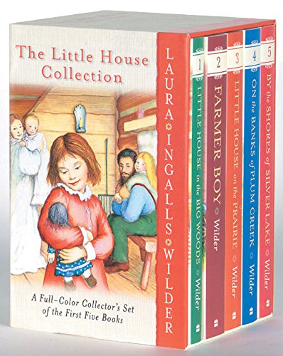 The Little House Collection Box Set (Full Color): Books 1 to 5