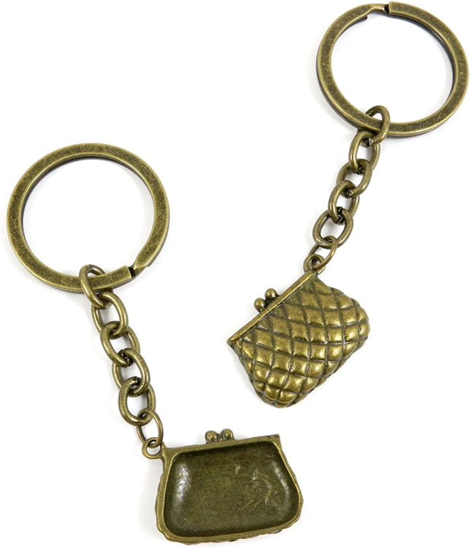 140 Pieces Fashion Jewelry Keyring Keychain Door Car Key Tag Ring Chain Supplier Supply Wholesale Bulk Lots V0DJ4 Handbag