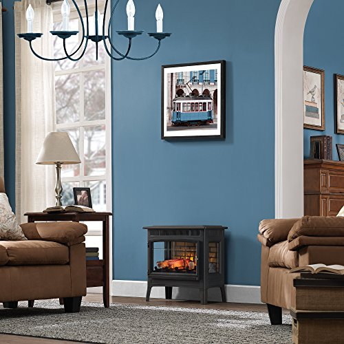 Infrared Electric Fireplace Stove with Remote Control