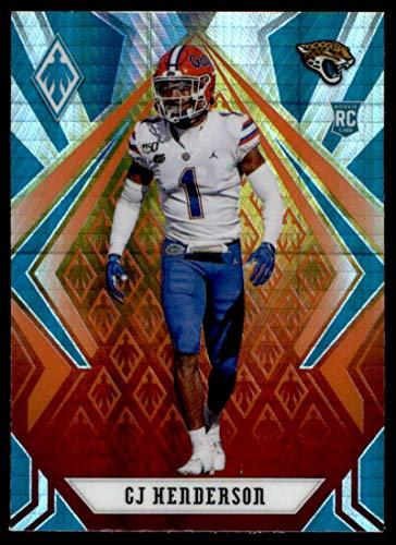 2020 Panini Phoenix Fire Burst #146 CJ Henderson Jacksonville Jaguars (Silver Prizm Refractor) NFL Football Card (RC - Rookie Card) NM-MT