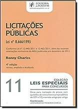 Leis Especiais Para Concursos - V. 11 - Licitacoes Publicas