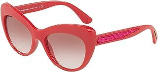 39c254c08945 Dolce & Gabbana DG6110 Sunglasses Fuchsia w/Pink Gradient Lens 52mm 30978D DG  6110