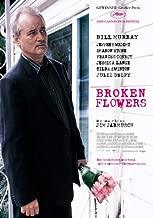 Broken Flowers Movie Poster (27 x 40 Inches - 69cm x 102cm) (2005) German -(Bill Murray)(Jeffrey Wright)(Sharon Stone)(Frances Conroy)(Jessica Lange)(Tilda Swinton)
