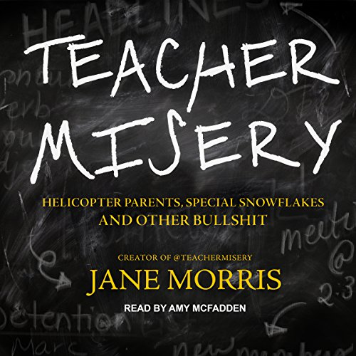 Teacher Misery audiobook cover art
