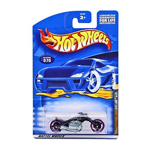 Hot Wheels/Mattel Wheels - Skull and Crossbones Series - #2 of 4 - Blast Lane Replica Motorcycle - Collector #2001:070 - 1:64 Scale
