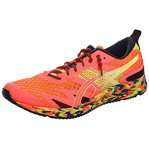 Asics Gel-Noosa Tri 12, Running Shoe Hombre, Flash Coral/Flash...
