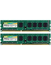 シリコンパワー デスクトップPC用メモリ DDR3 1600 PC3-12800 4GB×2枚 240Pin Mac 対応 永久保証 SP008GBLTU160N22