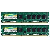 デスクトップPC用メモリ DDR3 1600 PC3-12800 4GB×2枚 240Pin Mac 対応 永久保証 SP008GBLTU160N22