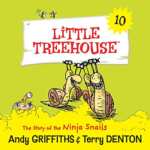 The Story of the Ninja Snails Audiobook By Andy Griffiths, Terry Denton cover art