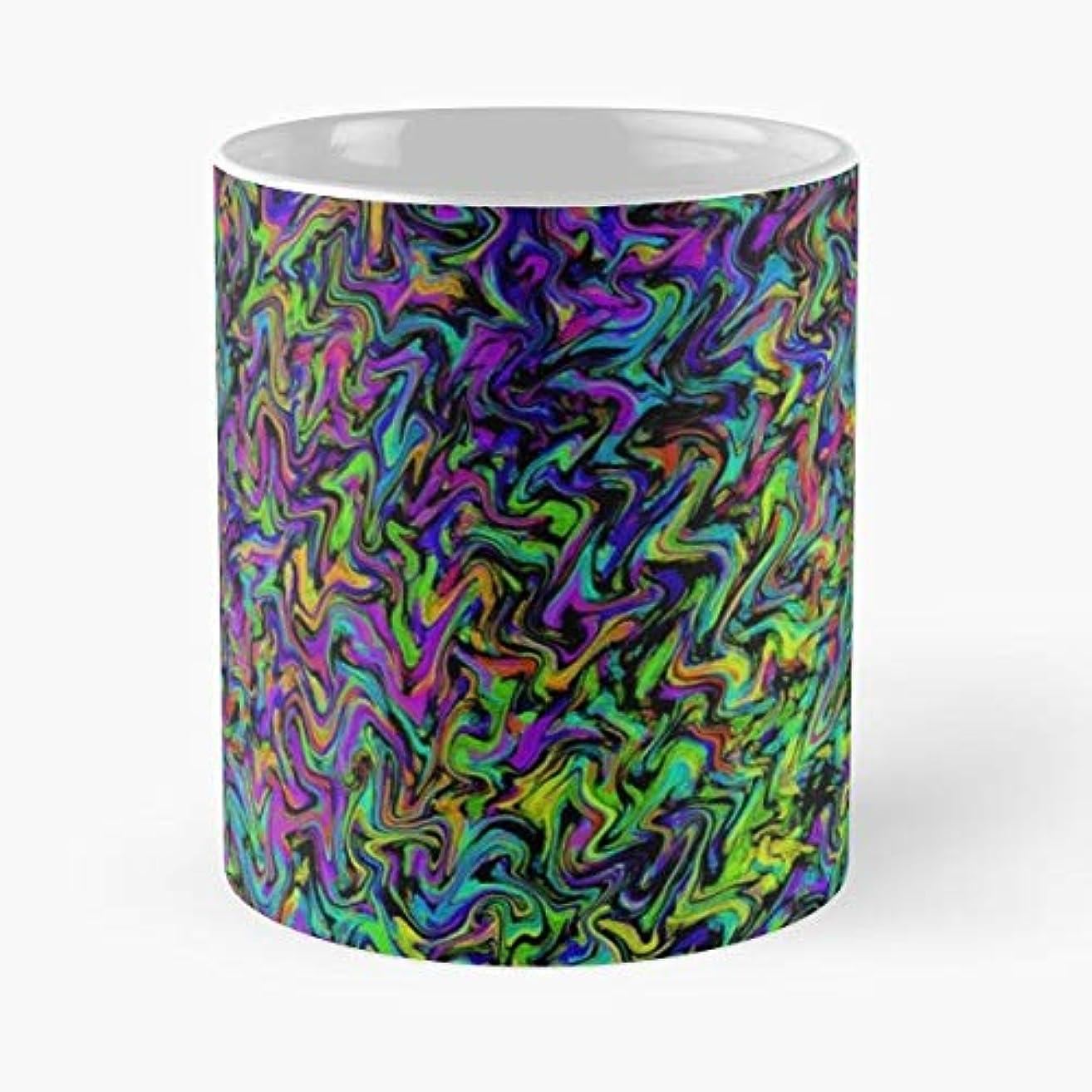 Tie Die Hipster High Hippie Coffee Mugs Best Gift 11 Oz