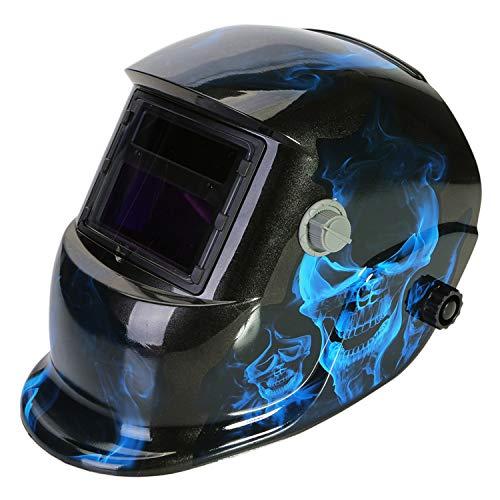 LESOLEIL Casque Soudure Automatique - Masque de Soudage avec Gamme Réglable d ombre DIN 9-13 et 2 Capteurs 2 Lentilles pour Modes de TIG MIG MAG à l arc