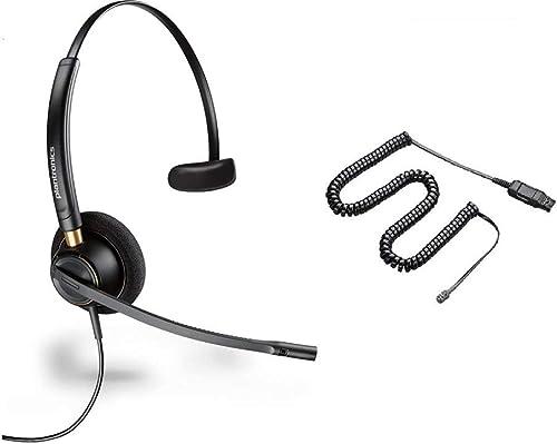 high quality Cisco outlet sale Certified Plantronics HW510 EncorePro 510 Noise Canceling Headset sale Bundle for Cisco 69xx, 78xx, 79xx, 89xx, 99xx Series online