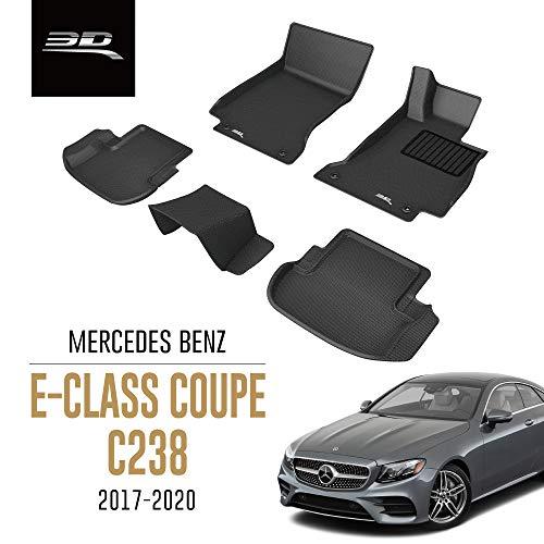 3D MAXpider All-Weather Car Floor Mats for Mercedes Benz E Class Coupe C238 2017-2020 Tailored Premium Waterproof Hybrid Rubber Car Mat Set